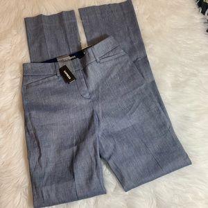 Express columnist linen blend dress pants size 00